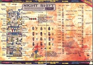 Карта Night Shift