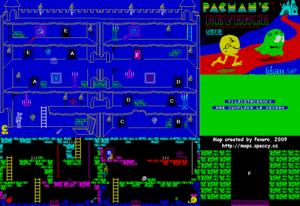 Карта Pacman's Revenge