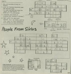 Карта People from Sirius