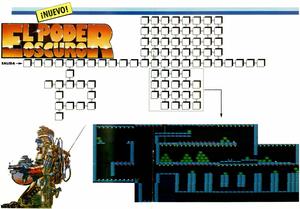 Карта Poder Oscuro, El