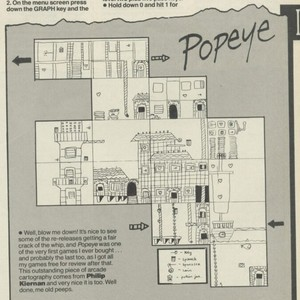Карта Popeye