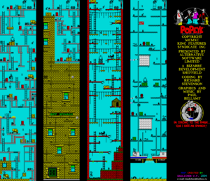 Карта Popeye 2