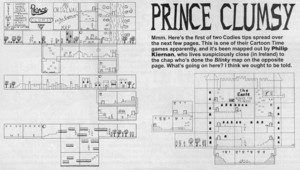 Карта Prince Clumsy