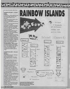 Карта Радужные острова