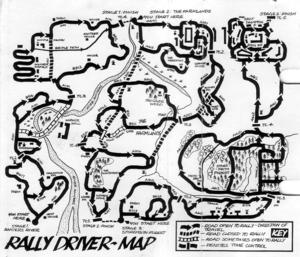 Карта Rally Driver