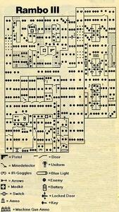 Карта Rambo III