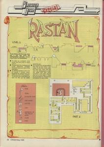 Карта Rastan