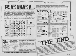 Карта Rebel