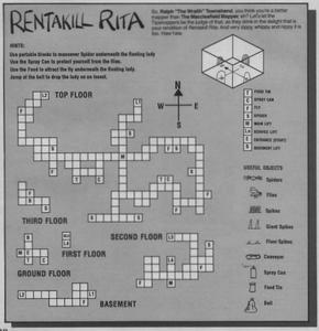 Карта Rentakill Rita