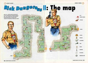 Карта Rick Dangerous 2