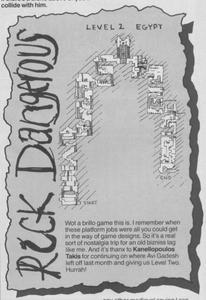 Карта Rick Dangerous