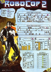 Карта RoboCop 2