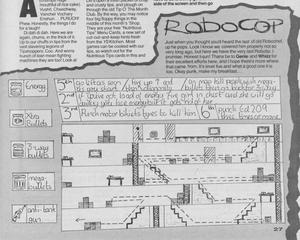 Карта Робот-полицейский