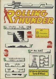 Карта Rolling Thunder