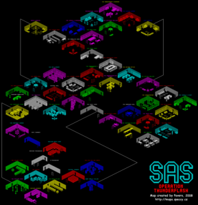 Карта SAS: Operation Thunderflash!!