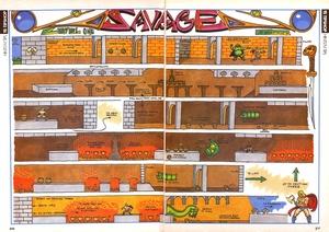 Карта Savage
