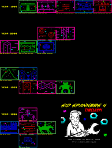 Карта Sid Spanners 4: Timeloop