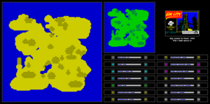 Карта Sim City