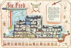 Карта Сэр Фред