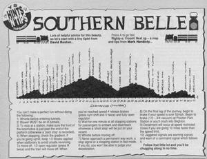 Карта Southern Belle