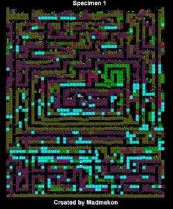 Карта Specimen