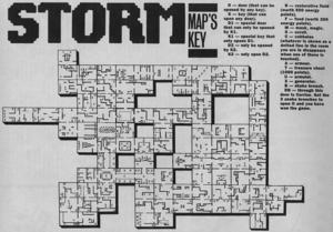 Карта Storm