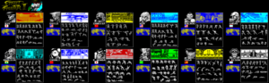 Карта Street Fighter II