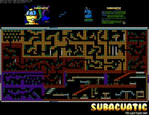Карта Subacuatic