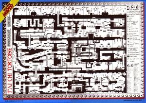 Карта Tai Chi Tortoise