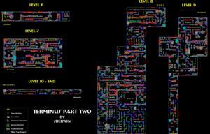 Карта Terminus