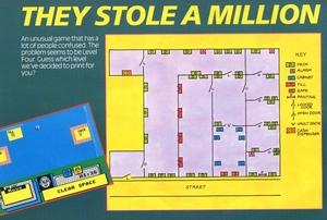 Карта They Stole a Million