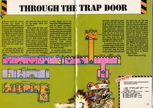 Карта Through the Trap Door