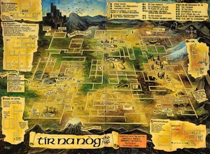 Карта Tir Na Nog