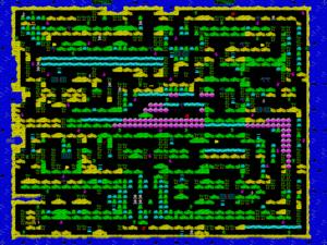 Карта Treasure Island