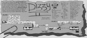 Карта Treasure Island Dizzy