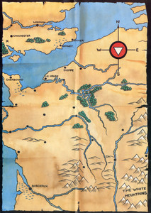 Карта Tripods, The