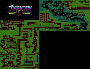 Карта Turrican II