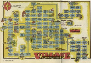 Карта Underworld - The Village