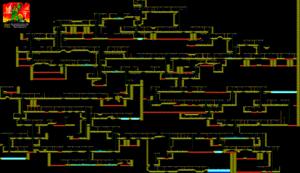 Карта Viaje al Centro de la Tierra