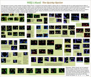 Карта Willy's Hoard
