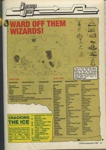 Карта Wizard Warz
