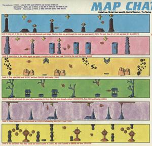 Карта Wizball