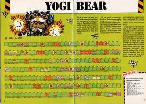 Карта Yogi Bear