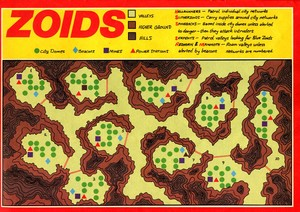 Карта Zoids: The Battle Begins