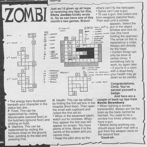 Карта Zombi