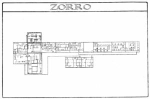 Карта Zorro